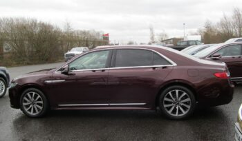 '19 reg Lincoln Continental Select 2.0L Ecoboost full